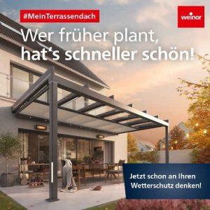 Wetterschutz mit Markisen von Weinor in Freiburg